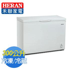 霸王級300L超省電冷凍櫃