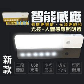 磁吸狠亮充電LED感應燈