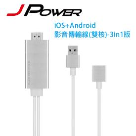 J-POWER手機影音傳輸線