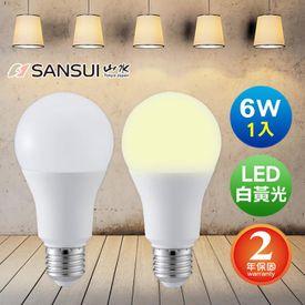 SANSUI LED超廣角球燈泡